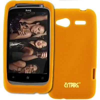 EMPIRE Orange Silikon-Gel-Hülle Tasche für T-Mobile HTC Radar 4G