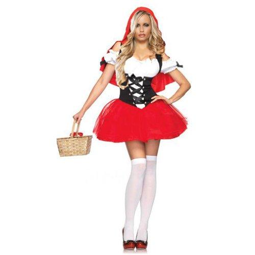 Amour-Sexy Luxus Rotkäppchen Halloween