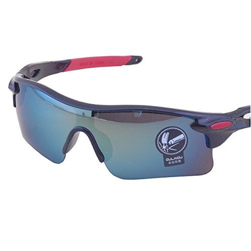 Alen(アレン)全6色 割れないサングラス スポーツ 自転車 野球 テニス 釣り UV400 防風 軽量30g