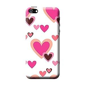 Garmor Heart Shape Design Plastic Back Cover For Apple iPhone 5 (Heart Shape - 4)