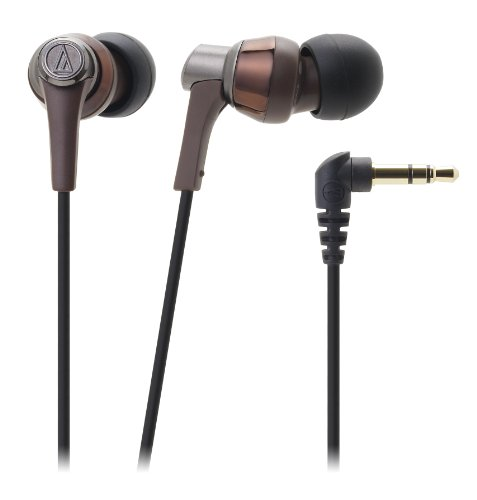 Audio-Technica Earbuds Brown Ath-Ckr3 Bw