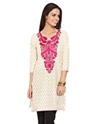 Lovely Lady Ladies Blend Straight Kurta - B00MMEJ7VK