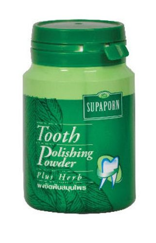 Supaporn - Tooth Polishing Powder - Dental Hygiene