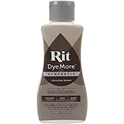 Rit Dye More Advanced Liquid Dye for Synthetics, 7-Ounce, Chocolate Brown by Tri
