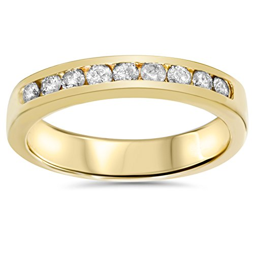 Yellow-Gold-14ct-Diamond-Wedding-Stackable-Guard-Ring
