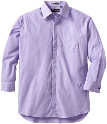 Stacy Adams Men's Big 39000 Dress Shirt, Dark Lavender, 18 - 38/39 (18 38 39 compare prices)
