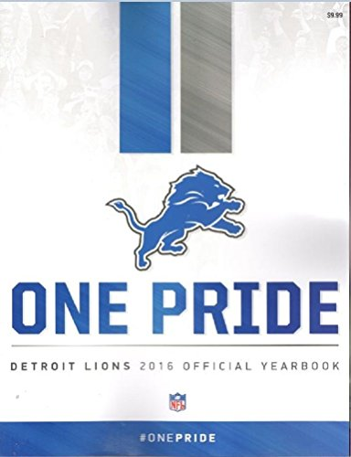 DETROIT LIONS PROGRAM 2016 YEARBOOK STAFFORD FORD FIELD NFL (Detroit Lions Program compare prices)