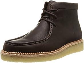[クラークス] CLARKS ベッカリーハイク 26110047 Dark Brown Leather(ダークブラウンレザー/065)