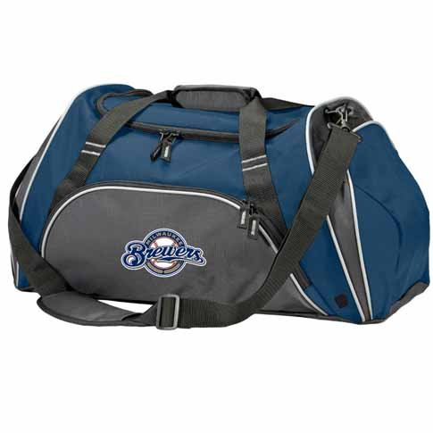 Milwaukee Brewers Action Duffle (Team Color) at Amazon.com
