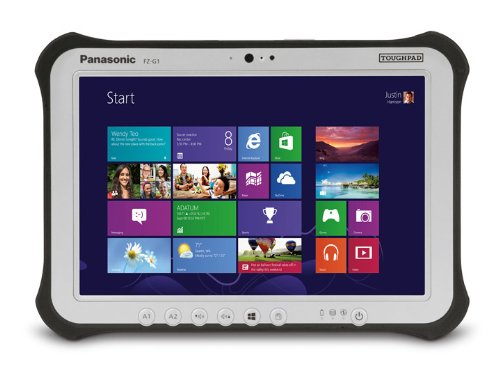 Panasonic Toughpad FZ-G1AAHAXLM Tablet PC - 10.1 - In-plane Switching (IPS) Technology - Intel Core i5 i5-3437U 1.90 GHz