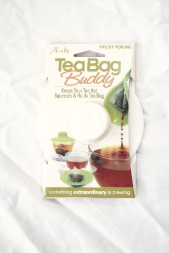 Best Price! Epoca Silicone Tea Bag Buddy, 2-Pack, White