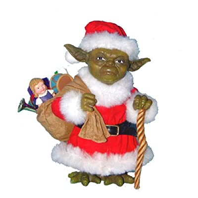 Kurt Adler Star Wars Fabriche Santa Yoda