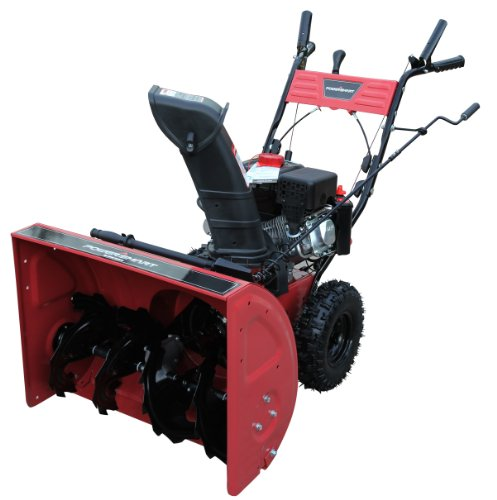 Power Smart Db7651 26-Inch 208Cc Lct Gas Powered 2-Stage Snow Thrower With Electric Start