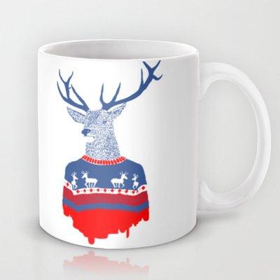 Society6 - Ugly Winter Pulover Coffee Mug By Robert Farkas