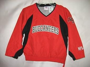 Tampa bay Buccaneers Red NFL Kids Pullover Windbreaker Jacket (Kids 6/7)