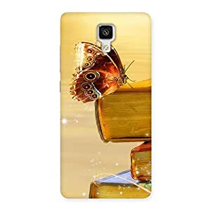 Special Book Butterfly Back Case Cover for Xiaomi Mi 4