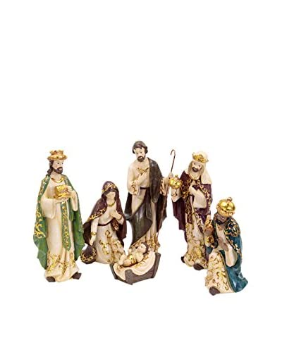 Decoracion Navideña Set Figura 6 Uds. Nacimiento