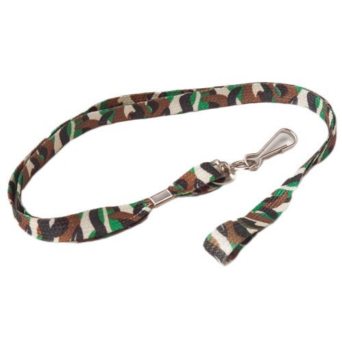 Kid Fun Dozen Camouflage Lanyards 12 pc