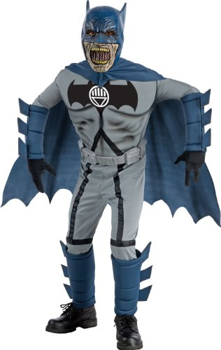 Blackest Night Deluxe Zombie Batman Costume and Mask