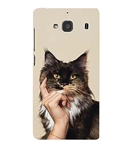 EPICCASE cat case Mobile Back Case Cover For Mi Redmi 2 Prime (Designer Case)