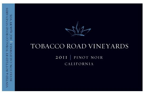 2011 Tobacco Road Pinot Noir, California 750 Ml
