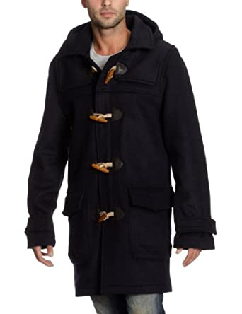 tommy hilfiger duffle coat in navy size xl clothing. Black Bedroom Furniture Sets. Home Design Ideas