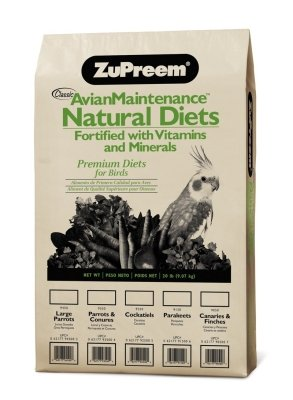 Cheap ZuPreem AvianMaintenance Natural Bird Diet for Parrots & Conures (B0002AQLLK)