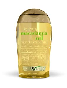 Organix Dry Styling Oil, Hydrating Macadamia, 3.3 Ounce