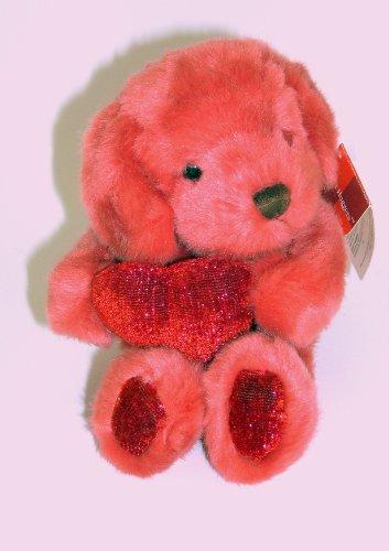 """8"""" Russ Berrie Heart Huggers Puppy Dog Plush - 1"""