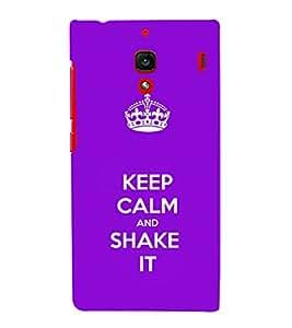 EPICCASE Shake it Mobile Back Case Cover For Xiaomi RedMi 1S (Designer Case)