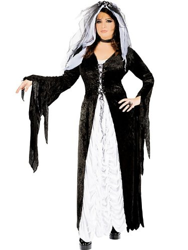 Bride of Darkness Plus Costume - Womens