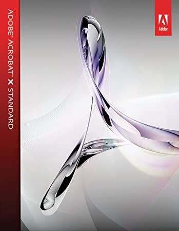 Adobe Acrobat X Standard  [Download]