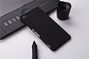 SDO™ Rubberised Matte Finish Slim Hard Case Back Cover for Sony Xperia XA (Black)