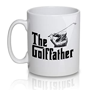 The Golf Father - Tea Cup Coffee Mug - great gift for golfer
