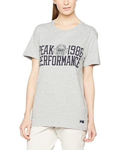 PEAK PERFORMANCE T-Shirt Graph T hellgrau