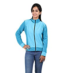 Hbhwear Women's Denim Jackets Sky Blue