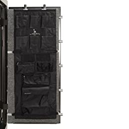 Liberty Door Panel - Fits Gun Safe Models 20-23-25 - Accessory and Organizer for Pistols, Handguns, Ammunition, Magazines, Choke Tubes and Other Security Products - Item 10585 - Black