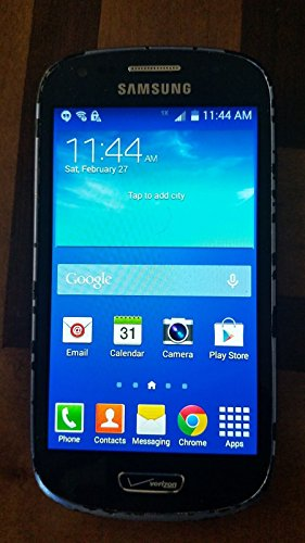 Samsung Galaxy S3 Mini G730 8GB 4G LTE Verizon CDMA Android Phone - Blue (Blue Samsung Galaxy S3 compare prices)