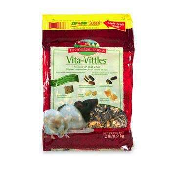 LM Animal Farms Vita-Vittles Vitamin-Enriched Nutrition Pet Mouse & Rat Diet (2 lbs.)