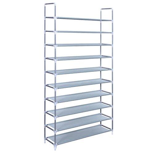 songmics-10-tiers-shoe-rack-50-pairs-non-woven-fabric-shoe-tower-storage-organizer-cabinet-ulsr10g