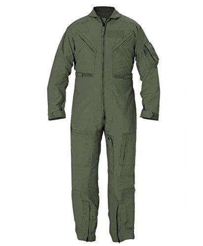 Propper CWU 27/P Nomex Flight Suit, Freedom Green, 40 Regular (Color: Freedom Green, Tamaño: 40 Regular)