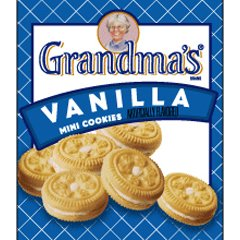 Frito-Lay FRI45096: Grandma's Vanilla Creme Mini Cookies