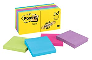 Post-it Notes, 3 x 3-Inches, Ultra Collection, 14-Pads/Pack