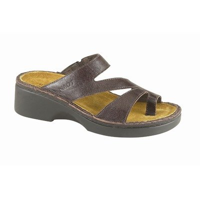 Women's Naot MONTEREY Sandals WALNUT 35 M EU, 4 M