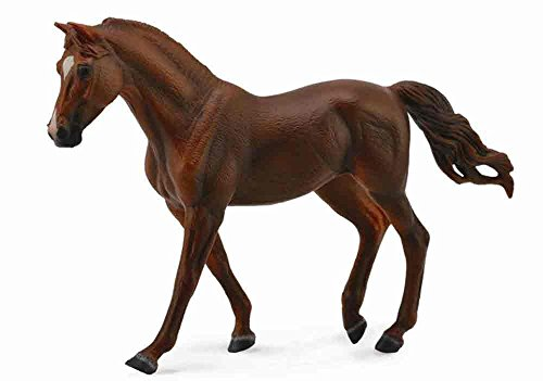 Collect A Horses Missouri Fox Trotter Chestnut Mare Toy Figure