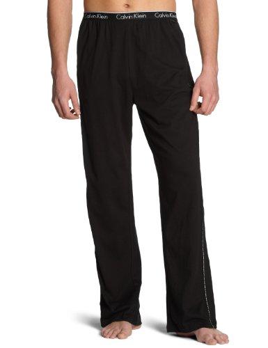 Calvin Klein Underwear CK ONE - Cotton Stretch Sleepwear Robe U8507A Herren Nachtwäsche/ Hosen, Gr. 4 S, Schwarz (100)