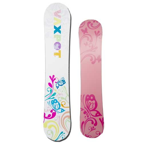 VAXPOT(バックスポット) スノーボード・スノボ 板 メンズ・レディース WOMEN:145cm ホワイト