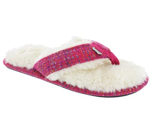Cheap Reef Women's Snowbird Slippers Hot Pink (8099 HPK)