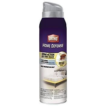 Ortho Home Defense Dual-Action Bed Bug Killer Aerosol Spray, 18-Ounce (Kills Bed Bugs, Fleas, Dust Mites & Stink Bugs)