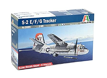 Italeri - I2699 - Maquette - Aviation - S-2F Tracker - Echelle 1:48